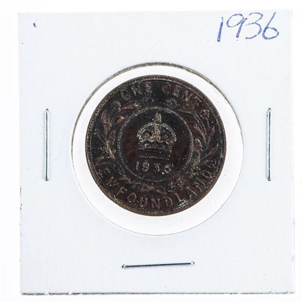 1936 NFLD Large Cent