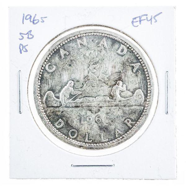 1965 Canada Silver Dollar SB/P5