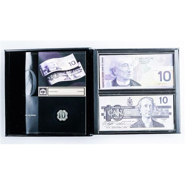 1986-2001 Lasting Impressions Bank of Canada Dual Series, Collector's Set