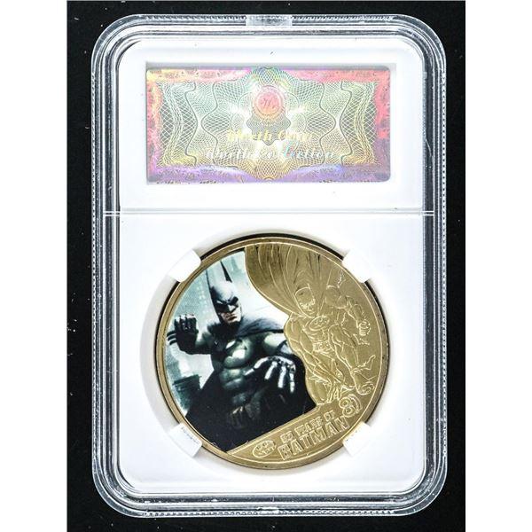 Batman Collector Medallion 24kt Gold Foil, Cased
