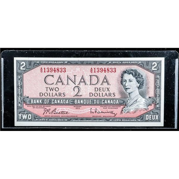 Bank of CANADA 1954 2.00 (A/G) B/R