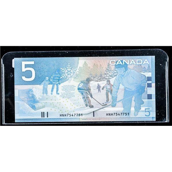 Bank of Canada 2002 5.00 (HNH) Choice UNC