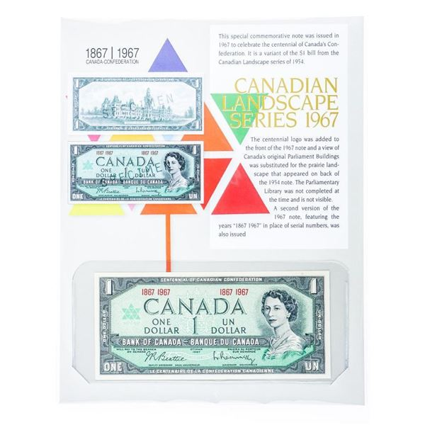 Canadian Landscape Series 1967 Collectible Note, 8x10 Giclee Recalled in 2020