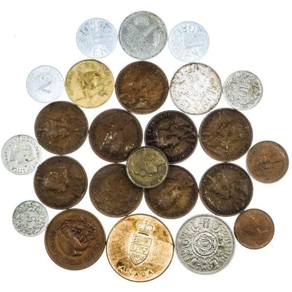 Estate Bag - Misc. World Coins