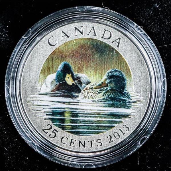 RCM 2013 - Mallard 25 Cent Coin