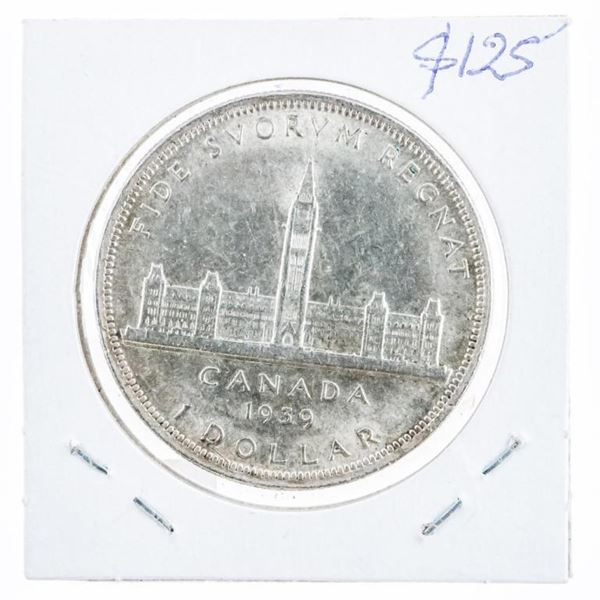 1939 Canada Silver Dollar D.H. MS64