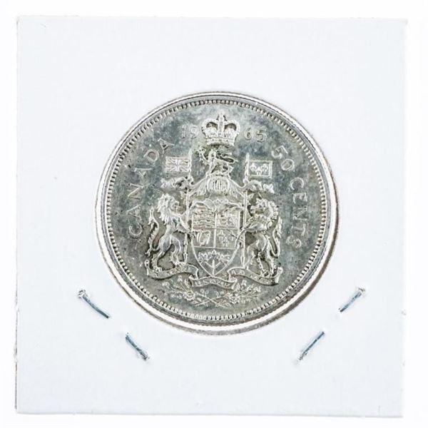 1965 Canada Silver 50 Cent