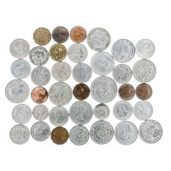 Bag Lot - Great Britain Shillings