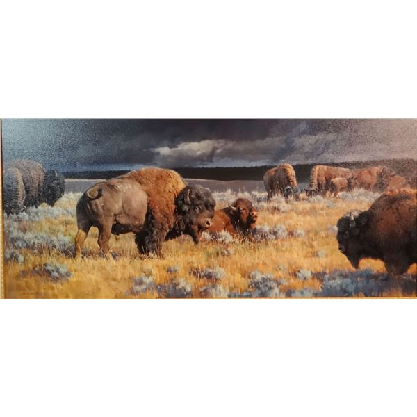 "Glazier, Nancy, Restless  canvas print, 16"" x 24"", #58/93"