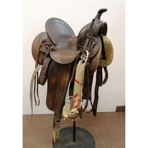 Miles City Coggshall saddle