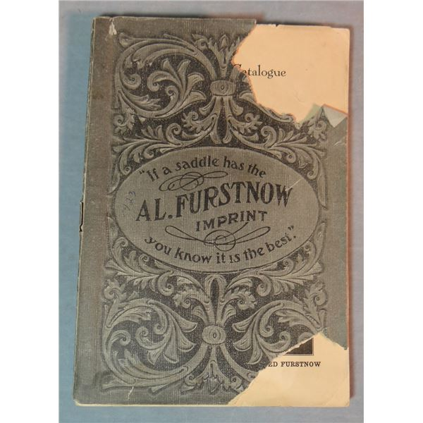 2 Al Furstnow Saddlery catalogs, #31 w/price sheet and 1923, tears on cover
