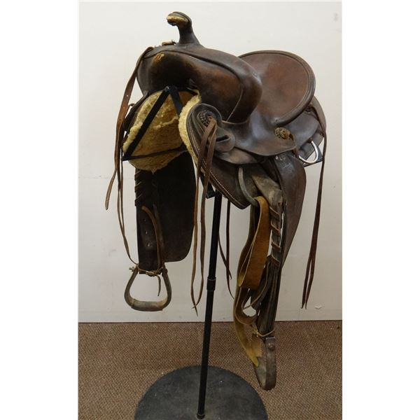 Al Furstnow bronc saddle