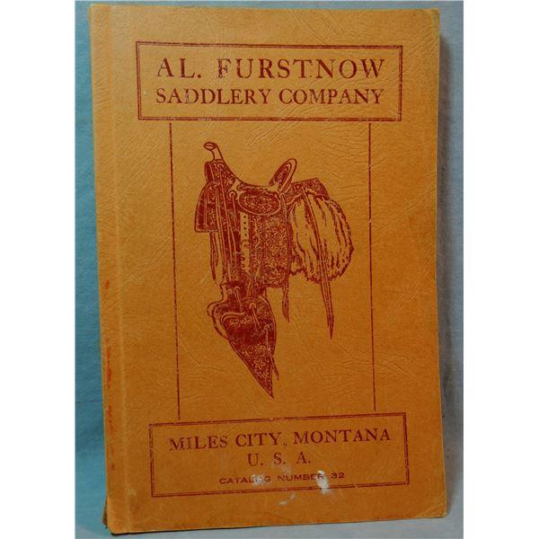 Al Furstnow Saddlery Catalog No. 32, excellent cond.