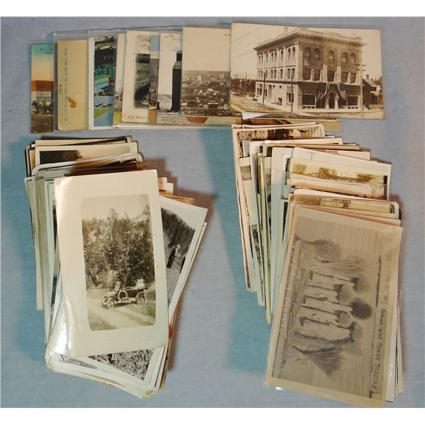 19 Lewistown, 130 Windham & Judith Basin photo postcards