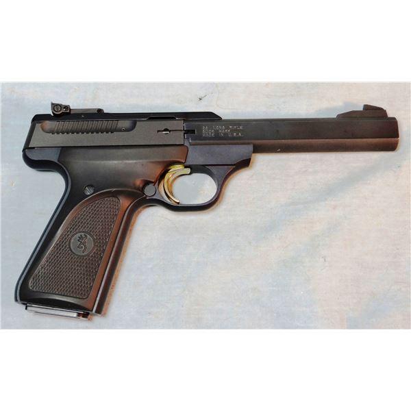 Browning Buck Mark semi auto pistol, .22LR, like new