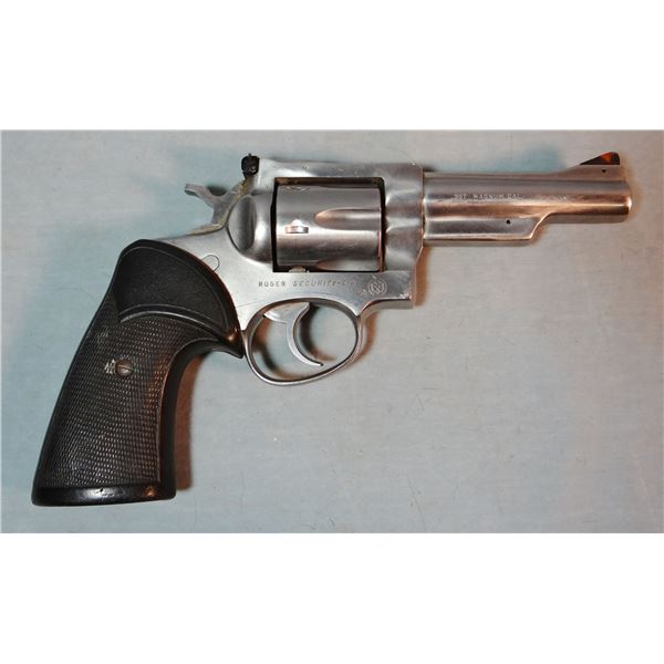 Ruger Security Six pistol, .357, stainless, flat top