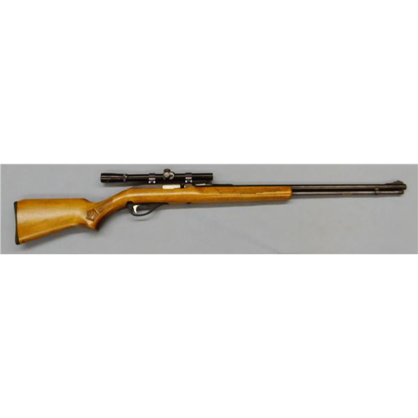 Marlin Glenfield 60 rifle, .22LR, semi-auto, tube feed, scope