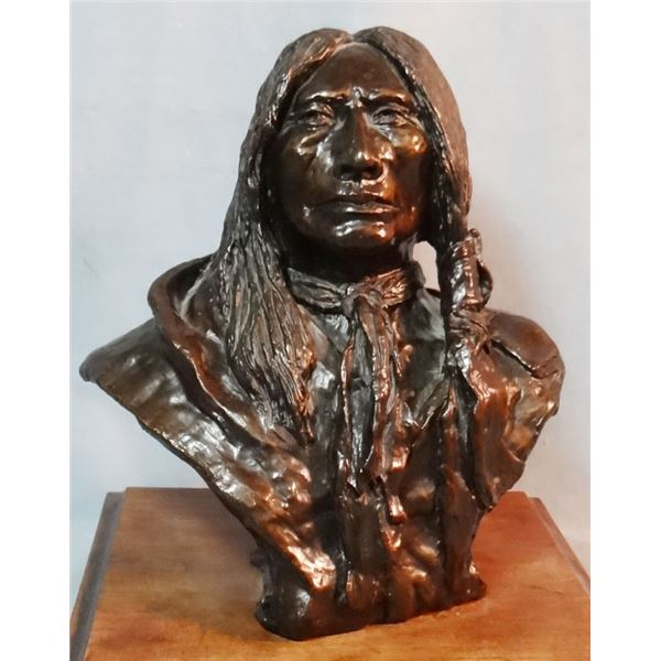 "Crawford, Ralph, bronze, Crazy Horse, 16/24, 8"" h x 7"" w x 5"" d"