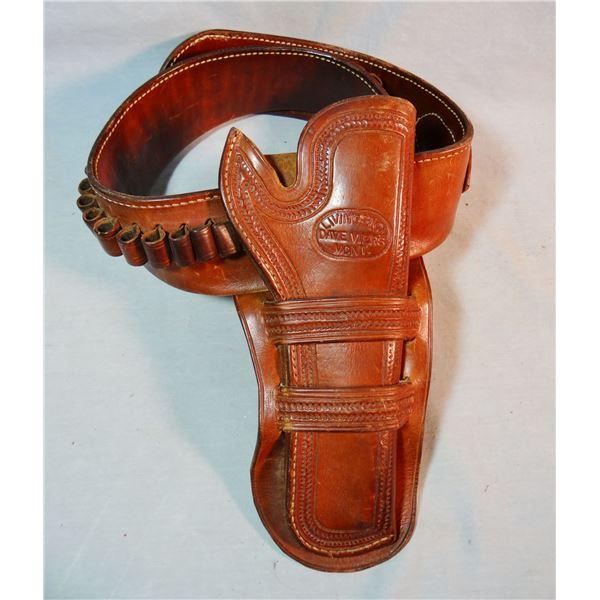 Dave Viers (Livingston, MT) holster & cartridge belt set