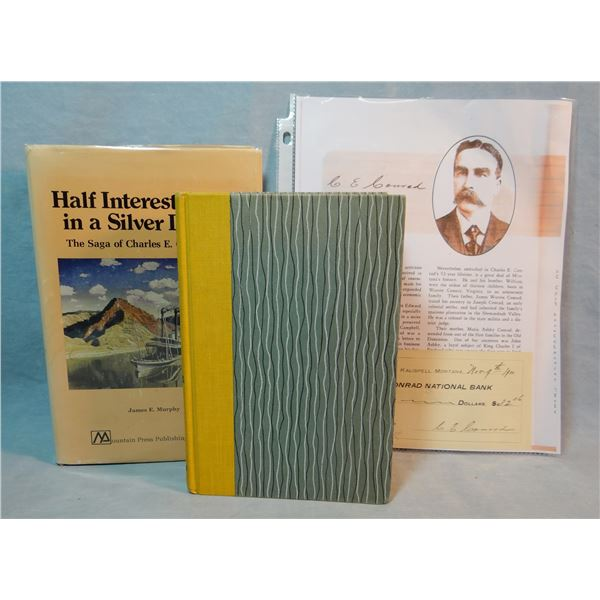 2 books: Hughie Call, Golden Fleece, 2nd, (one of 100 best MT books), signed,  Half Interest In A Si
