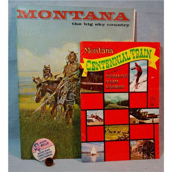 Montana Territorial Centennial booklet (1864-1964)