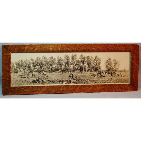 "Vintage Hamilton, MT photo, ca. early 1900's harvesting potatoes, 5 1/2"" x 9"""