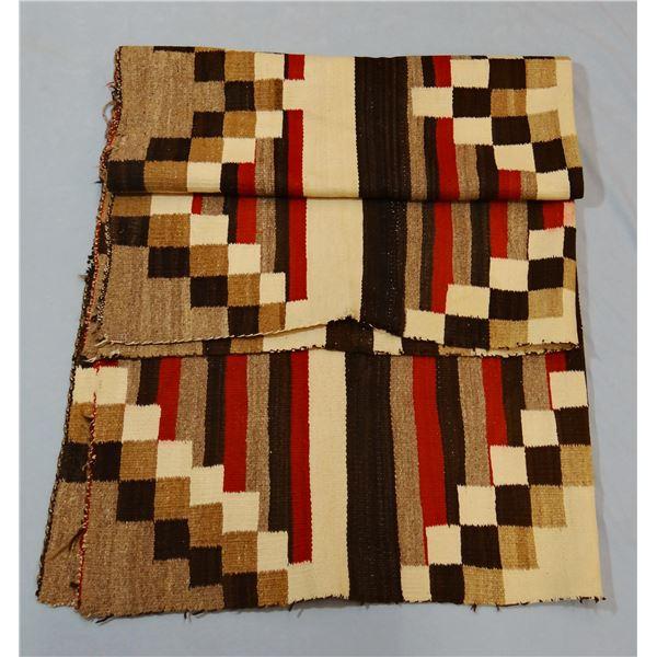 "Large Navajo weaving, 74"" x 58"""