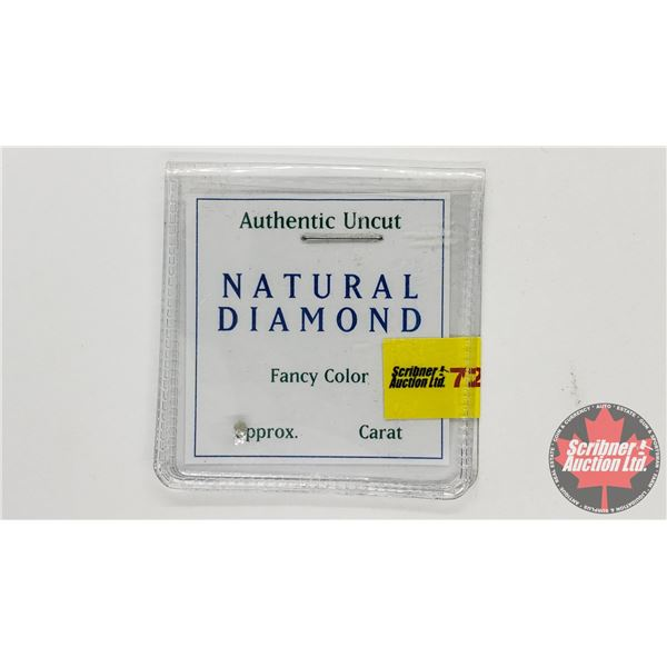 Natural Diamond Uncut - Small (Note: No more details have been provided - Carat unknown, Clarity Unk