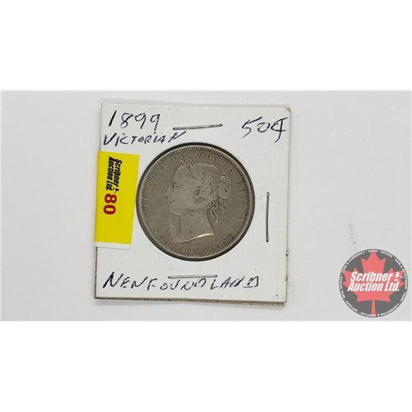 Newfoundland Fifty Cent 1899