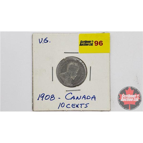 Canada Ten Cent 1908