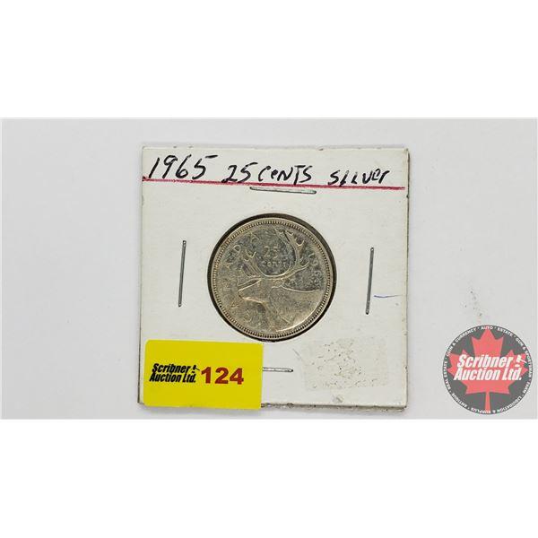 Canada Twenty Five Cent 1965
