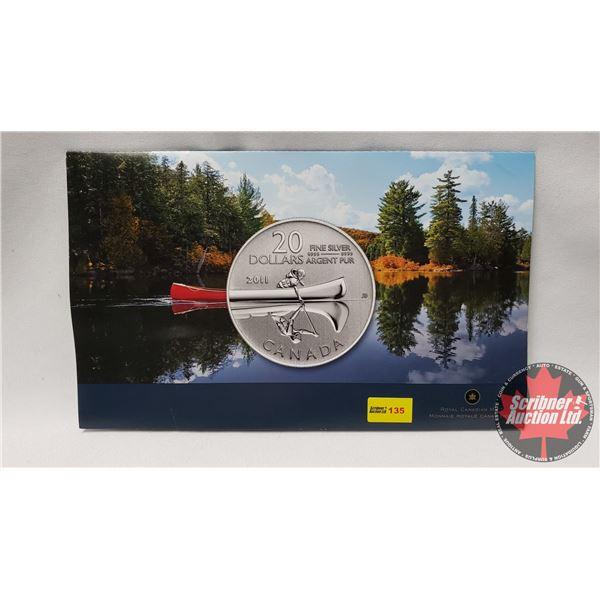 RCM $20 Pure Silver Commemorative Coin 2011 (99.99%)