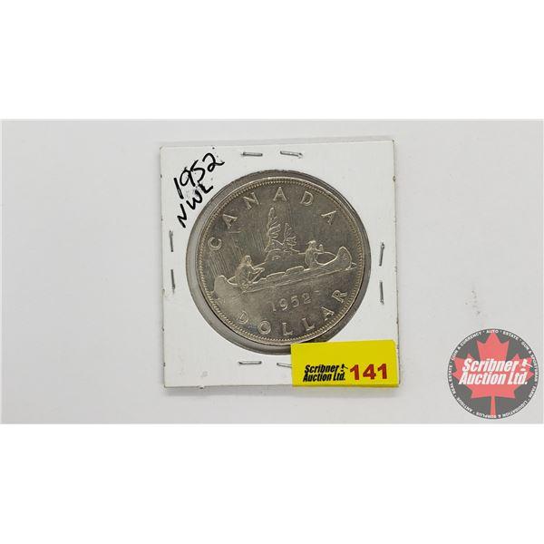Canada Silver Dollar 1952NWL