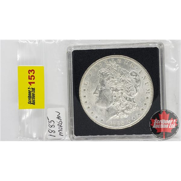 US Morgan Dollar 1885