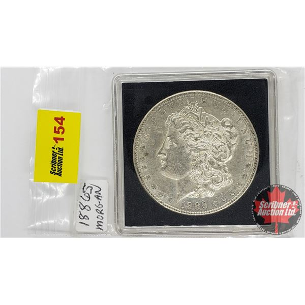 US Morgan Dollar 1886S