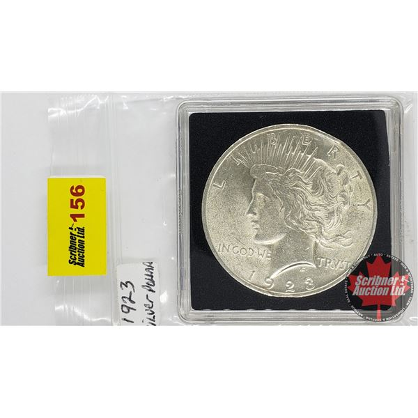 US Peace Dollar 1923