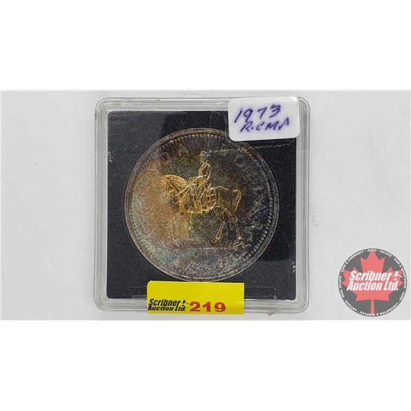 Canada Silver Dollar 1973 RCMP