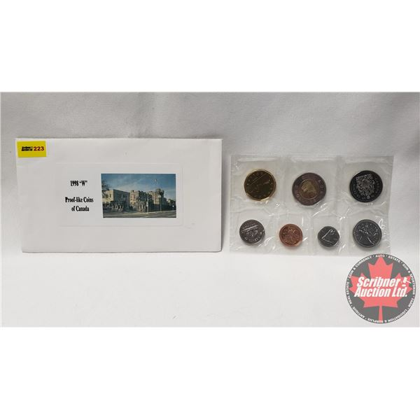 Canada Uncirculated Coin Set 1998W