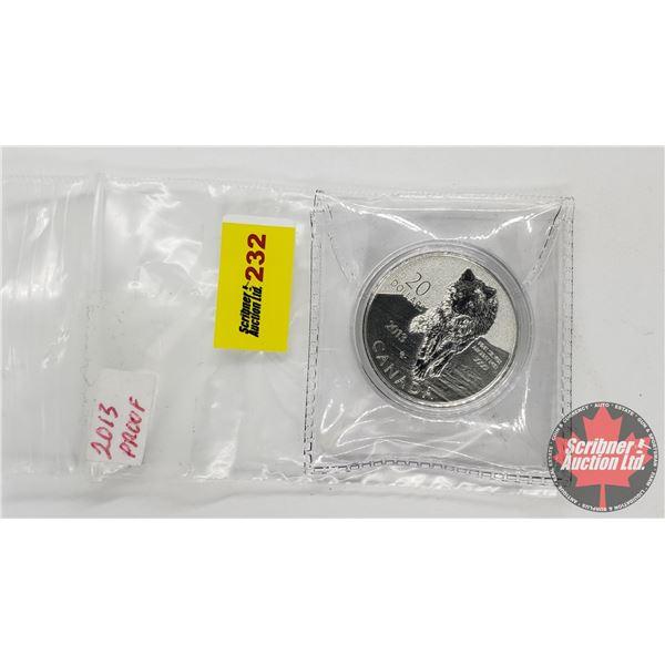 Canada 2013 Proof $20 Dollars (.9999)