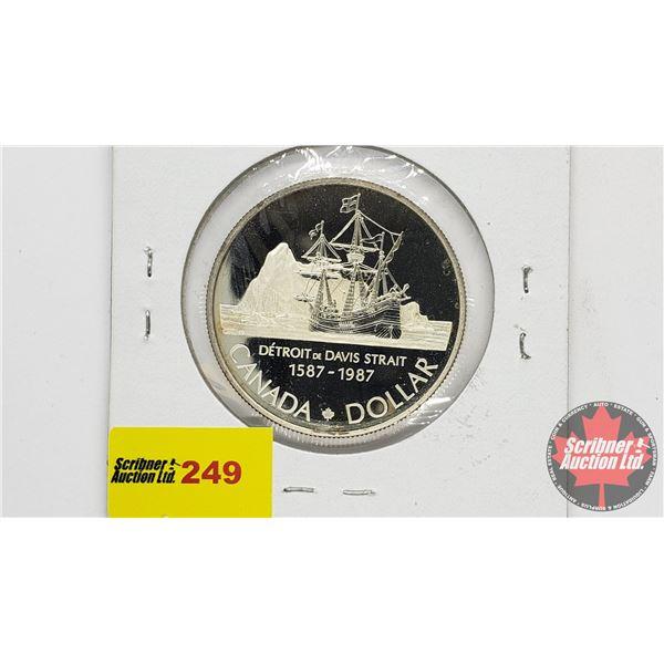 Canada Silver Dollar 1987