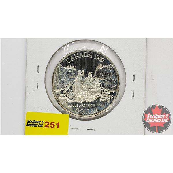 Canada Silver Dollar 1989