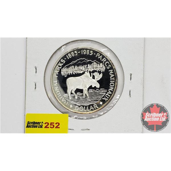 Canada Silver Dollar 1985