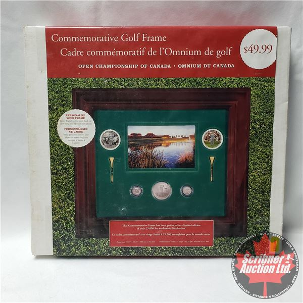 Commemorative Golf Frame (Limited Edition - Unopened) (See Packaging in Picture for Details)