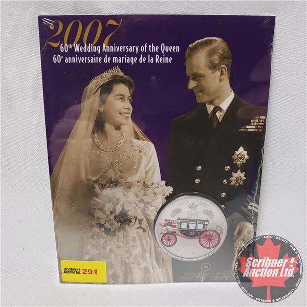 RCM 60th Wedding Anniversary of the Queen 2007 (Unopened)