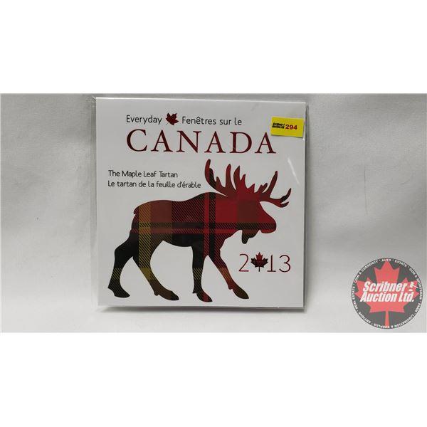 """RCM Everyday Canada 2013 """"The Maple Leaf Tartan"""""""