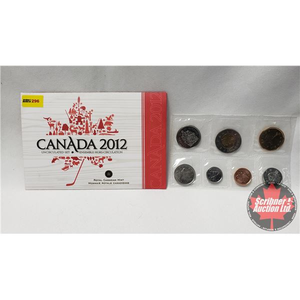 RCM 2012 Uncirculated Coin Year Set