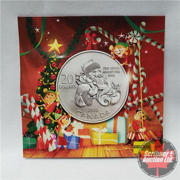 RCM 2013 Specimen $20 Fine Silver Coin (.9999)