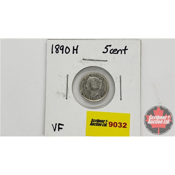 Canada Five Cent 1890H