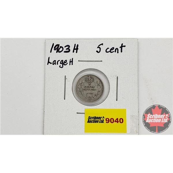 Canada Five Cent 1903H
