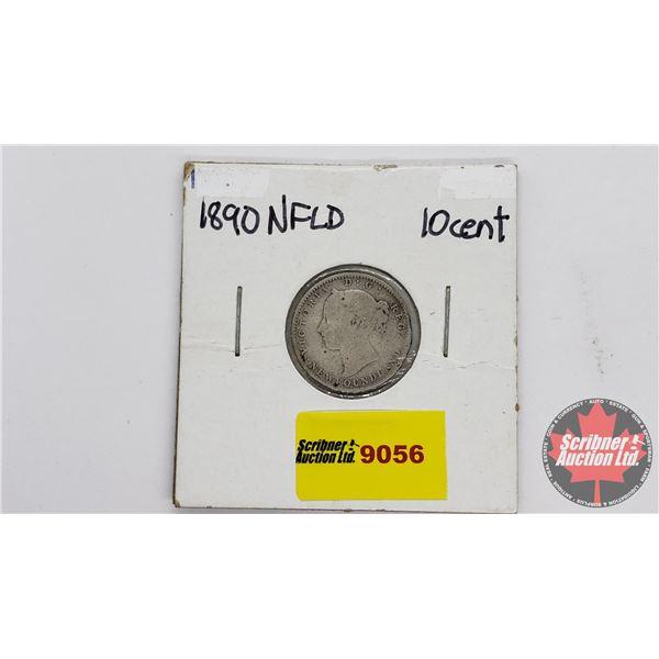 Newfoundland Ten Cent 1890